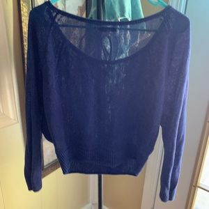 American Eagle Outfitters Sweaters - AMERICAN EAGLE OUTFITTERS Blue Light Sweater Sz S